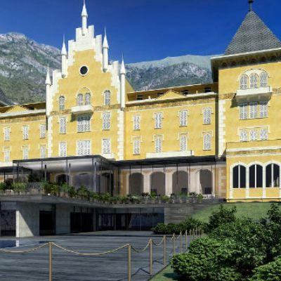 The Grand Hotel Billia in Saint-Vincent